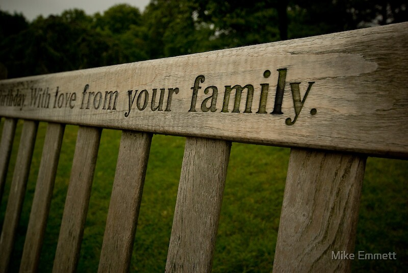 With love from your family by Mike Emmett