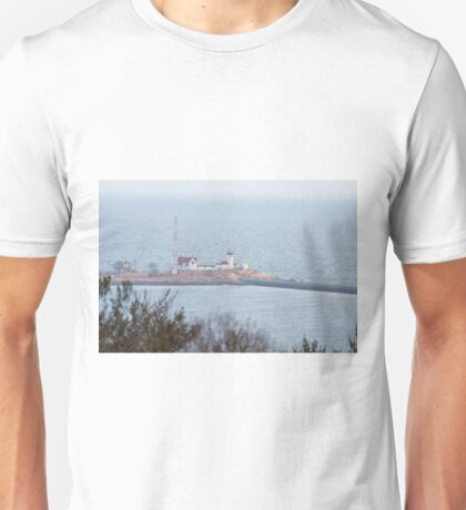 Foggy Eastern Point Lighthouse Unisex T-Shirt