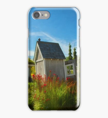 Crooked Little House iPhone Case/Skin