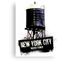 New York City Water Tower Canvas Print
