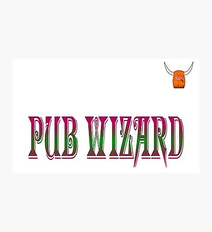 Pub Wizard : Dexter Skyhook Photographic Print