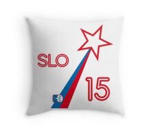 SLOVENIA STAR Throw Pillow