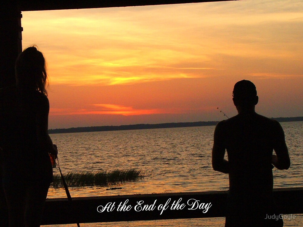 At The End Of The Day by Judy Gayle Waller