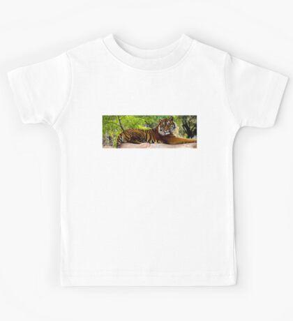 Lounging Tiger - Cool Stuff Kids Tee