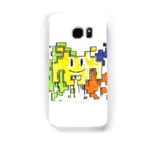 smiley space invaders  Samsung Galaxy Case/Skin