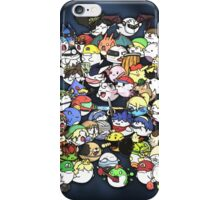 Super Smash Boos! iPhone Case/Skin