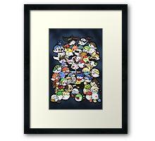 Super Smash Boos! Framed Print