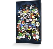 Super Smash Boos! Greeting Card