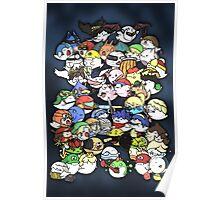 Super Smash Boos! Poster