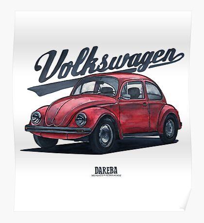 Oldtimer - Bug Poster