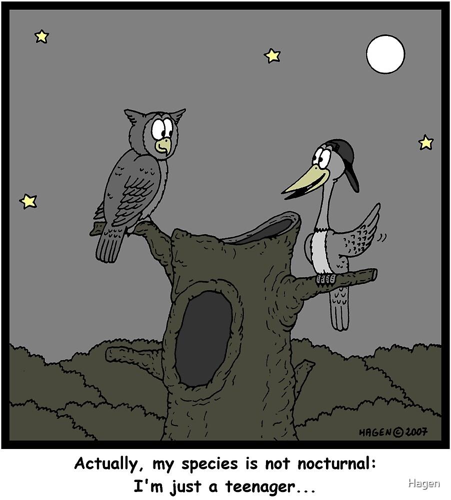 Nocturnal by Hagen