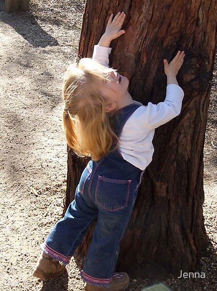 Tree Hugger by Jenna
