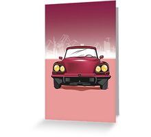Citroen Greeting Card