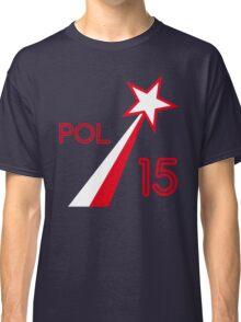 POLAND STAR Classic T-Shirt