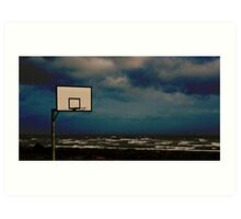 Anyone for some hoops? Art Print