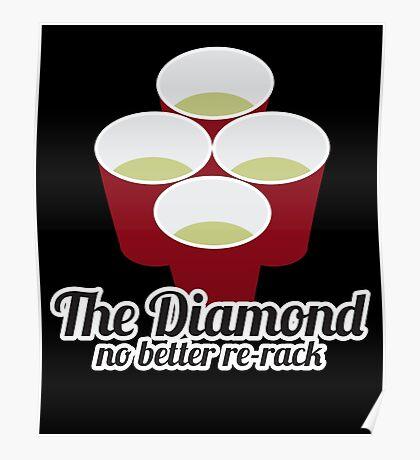 The Diamond No Better Re-Rack Poster