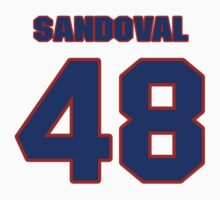 National baseball player Pablo Sandoval jersey 48 by imsport