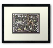 Jungle Games Framed Print