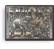 Jungle Games Canvas Print