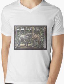 Jungle Games Mens V-Neck T-Shirt