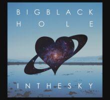 Big Black Hole In The Sky - Scandalous Heart artwork (Jez Kemp album) Kids Tee