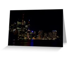 Brisbane CBD Greeting Card