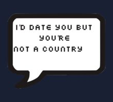 You're Not A Country by DARoma