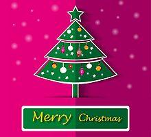 Christmas tree by torishaa