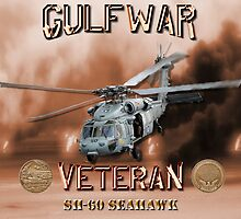 SH-60 SeaHawk Gulf War Veteran by Mil Merchant