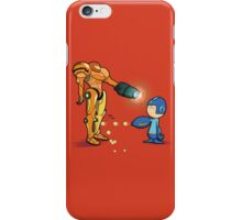 Samus Vs Mega iPhone Case/Skin