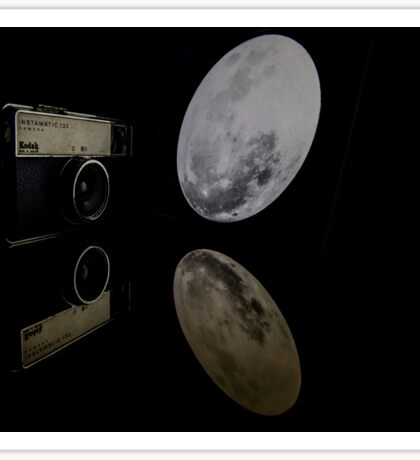 Moonlit Camera Sticker