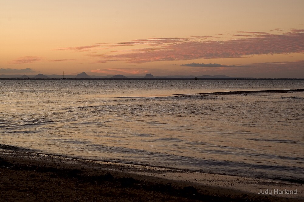 Scarborough Sunset by J Harland