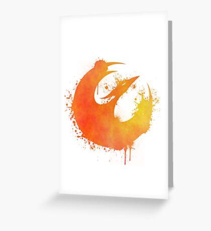 Sabine Wren's starbird Greeting Card