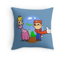 Princess Peach is in da' castle! Throw Pillow