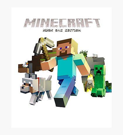 Minecraft games Photographic Print