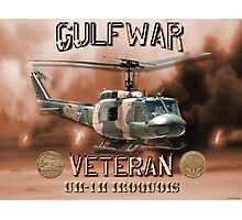 UH-1 Iroquois Gulf War Veteran Photographic Print