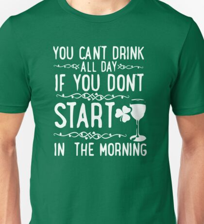 Shirt Day Drunk S Patrick Irish T St Lives Matter Saint Green Shamrock Clover Beer Party Pub Fit Shaced Drinking Unisex T-Shirt