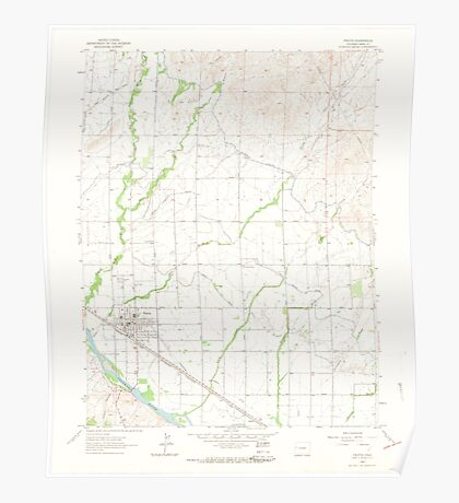 USGS TOPO Map Colorado CO Fruita 400992 1962 24000 Poster