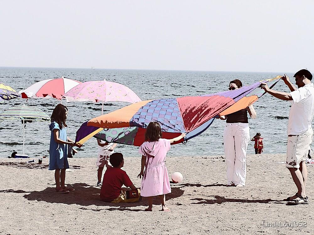 Beach Fun by LindaLou1952