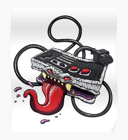 Old Skool Monster Poster