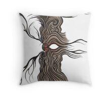 eye tree Throw Pillow