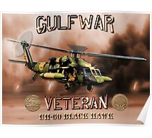 UH-60 Black Hawk Gulf War Veteran Poster