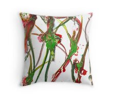 there's always time for flowers Throw Pillow
