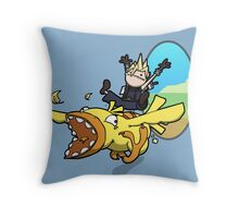 A magnificent creature Throw Pillow