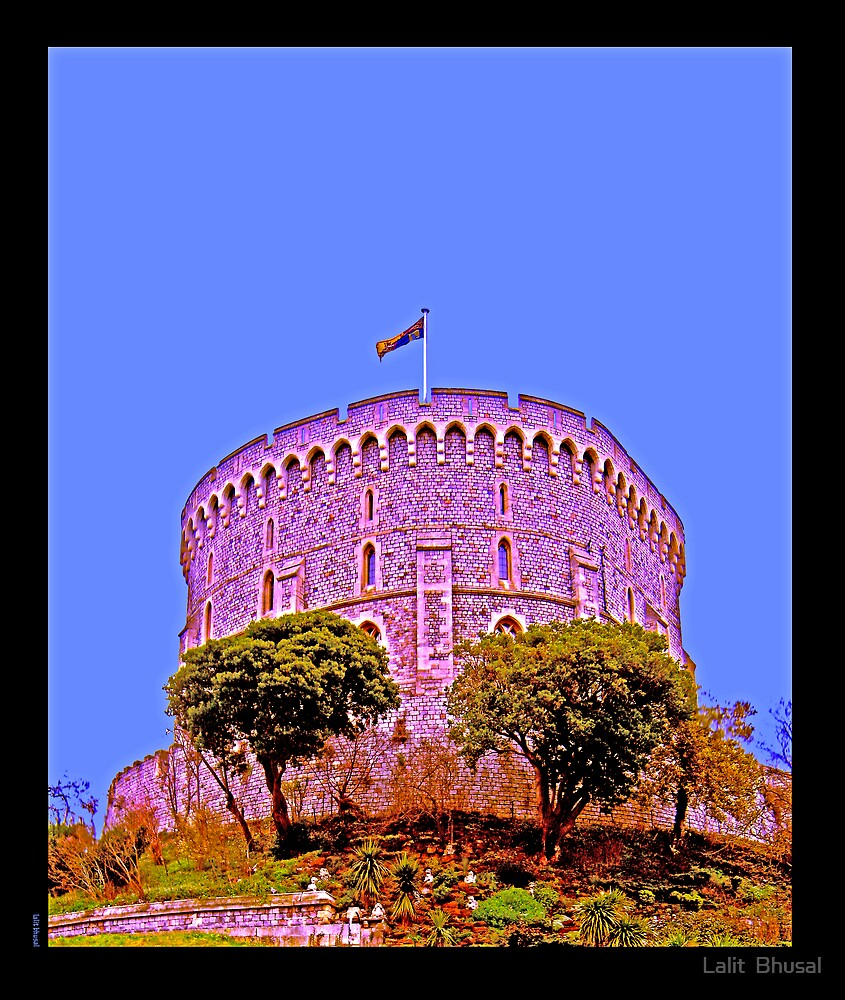 Windsor Castle by Lalit  Bhusal