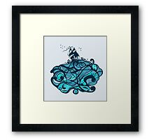 Upon The Sea Framed Print