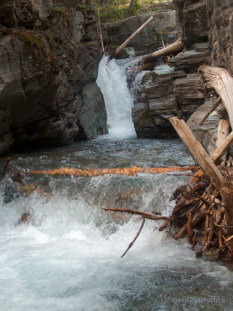 Gorge Water Fall 6 by Annie Peterschick