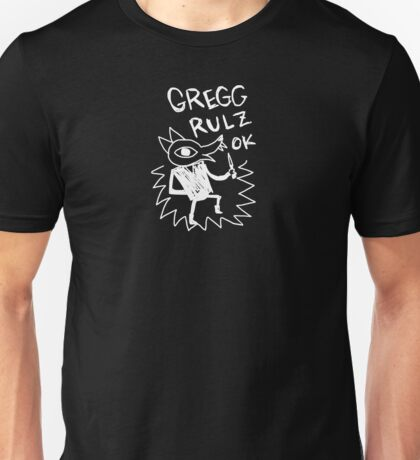 Night In The Woods - Gregg Rulz Ok - White Clean Unisex T-Shirt