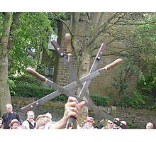 crossed swords Photographic Print