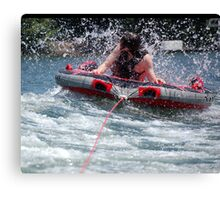 Tubing Fun Canvas Print